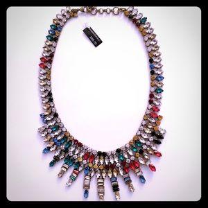 Banana Republic multicolored statement necklace!